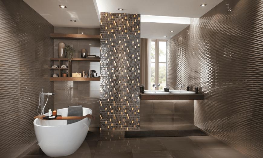 идеи для отделки ванной
