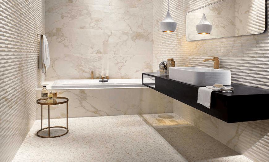 Современная плитка для ванны