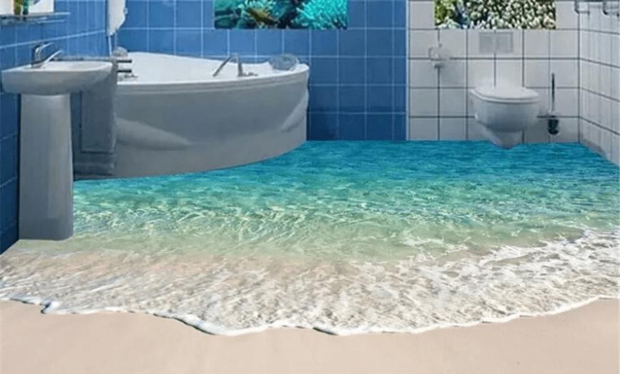 плитка 3D для ванной